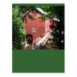 A SCENE OF A GRIST MILL POST CARD
