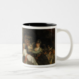 A Scene of Exorcism (see also 59715) Two-Tone Coffee Mug