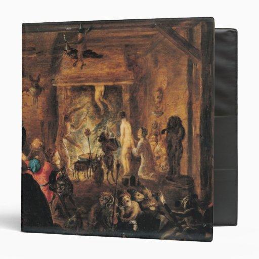 A Scene of Sorcery, 1633 Binder