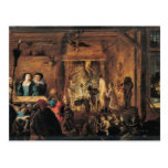 A Scene of Sorcery, 1633 Postcard