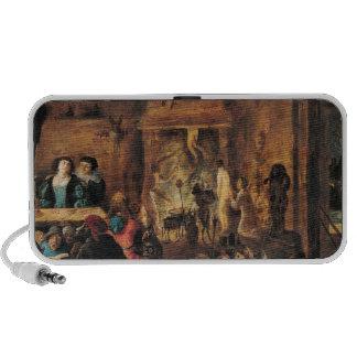 A Scene of Sorcery, 1633 Notebook Speaker