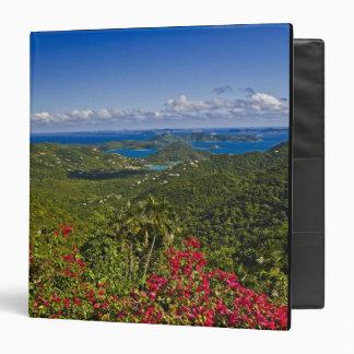 A scenic of Cruse Bay, St. John U.S Virgin Binder