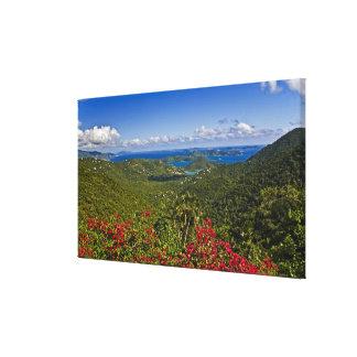 A scenic of Cruse Bay, St. John U.S Virgin Canvas Print