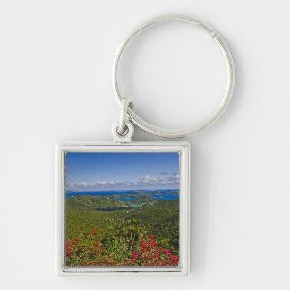 A scenic of Cruse Bay, St. John U.S Virgin Keychain