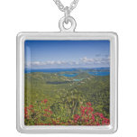 A scenic of Cruse Bay, St. John U.S Virgin Personalized Necklace