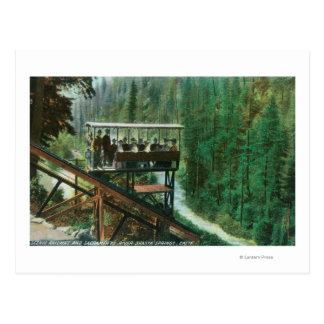 A Scenic Railway Along the Sacramento River Postcard