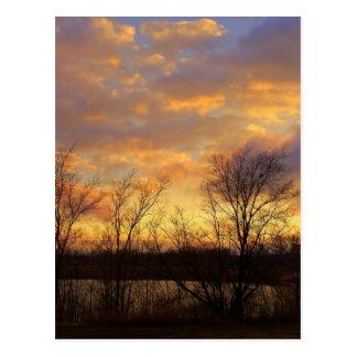 a scenic sky postcard