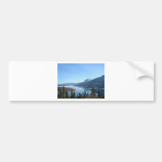 A Scenic View in Skagway, Alaska Bumper Sticker