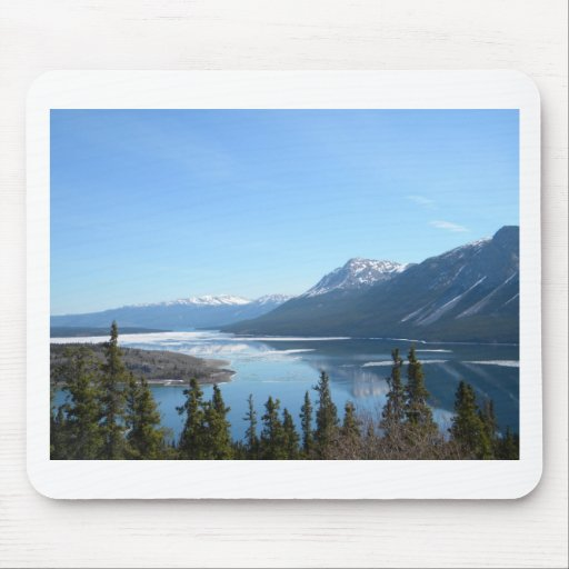 A Scenic View in Skagway, Alaska Mouse Pads