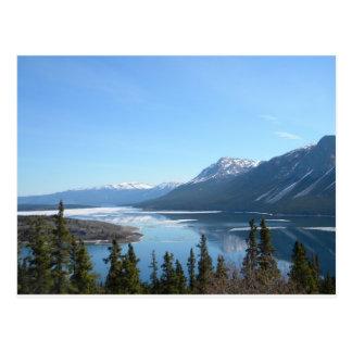 A Scenic View in Skagway Alaska Postcard