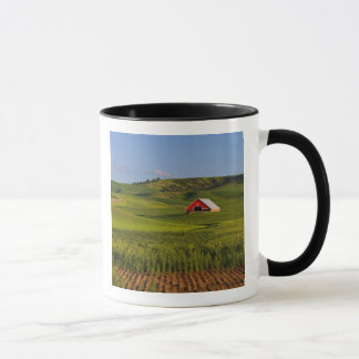 A scenic view of a barn in Moscow Idaho. Mug
