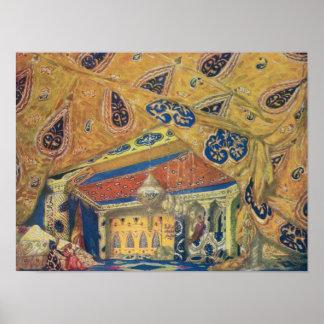 A Scheherazade Salon Poster