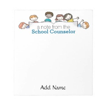 Christmas Themed A School Counselor's Custom Notepad