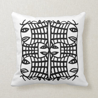 A School Of Fish Throw Pillow