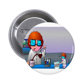 A Scientist Morning Button