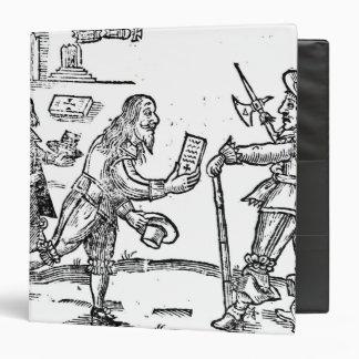 A Scotsman Petitioning Charles I 3 Ring Binder