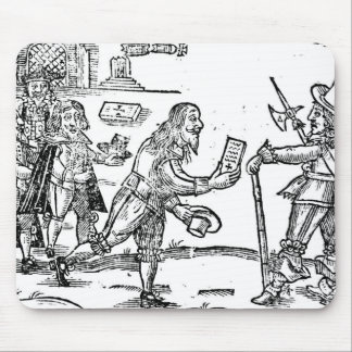 A Scotsman Petitioning Charles I Mouse Pad