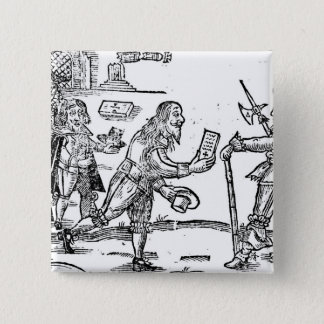 A Scotsman Petitioning Charles I Pinback Button