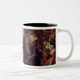 A Scottish Christening Two-Tone Coffee Mug