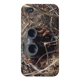 A scout observer practices observation techniqu 2 iPhone 4/4S cases