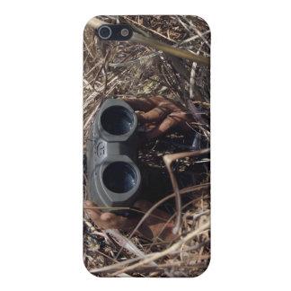 A scout observer practices observation techniqu 2 iPhone SE/5/5s case