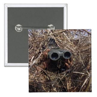 A scout observer practices observation techniqu pinback buttons