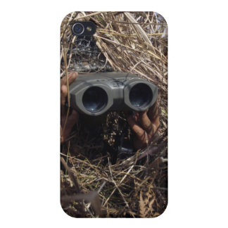 A scout observer practices observation techniqu iPhone 4 cover