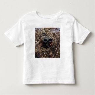 A scout observer practices observation techniqu toddler t-shirt