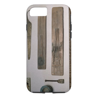 A scribe's instruments (wood, ivory, bronze and en iPhone 8/7 case