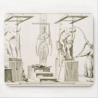 A Sculptor's Studio, c.1800 (engraving) Mouse Pad