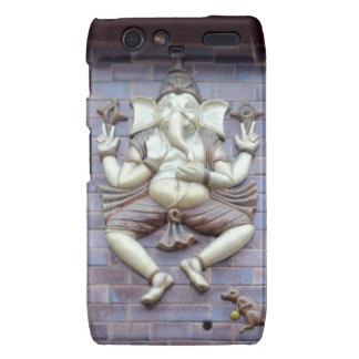 A sculpture of Hindu God Ganesha Droid RAZR Case