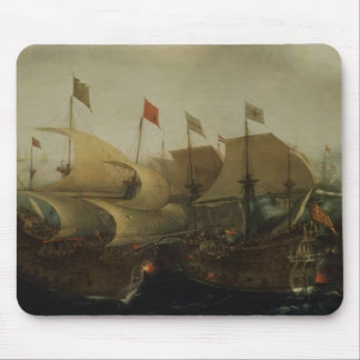 A Sea Action, possibly the Battle of Cadiz, 1596 Mouse Pad