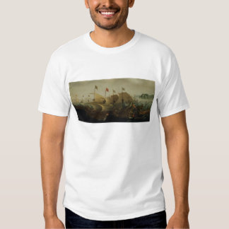 A Sea Action, possibly the Battle of Cadiz, 1596 T-shirt