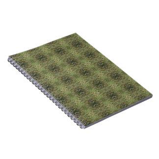 A Sea Dunes Pattern Notebooks