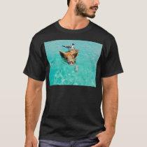 A sea gull and a pig T-Shirt