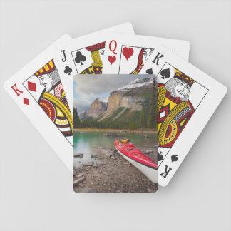 A sea kayak ashore at Spirit Island Playing Cards