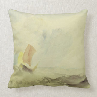 A Sea Piece - A Rough Sea with a Fishing Boat, 182 Pillows