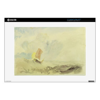 A Sea Piece - A Rough Sea with a Fishing Boat, 182 Skins For Laptops