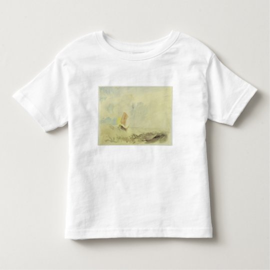 A Sea Piece - A Rough Sea with a Fishing Boat, 182 Toddler T-shirt