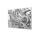 A Sea Serpent Canvas Print