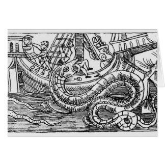 A Sea Serpent Card