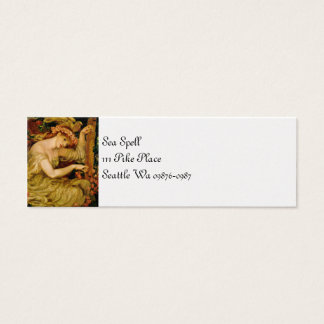 A Sea Spell Mini Business Card