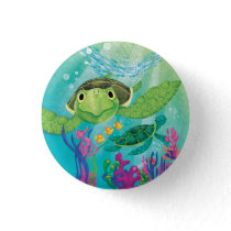 A Sea Turtle Rescue Button