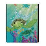 A Sea Turtle Rescue iPad Folio Case