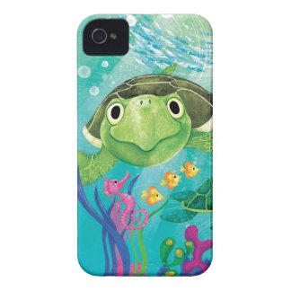 A Sea Turtle Rescue iPhone 4 Case-Mate Cases