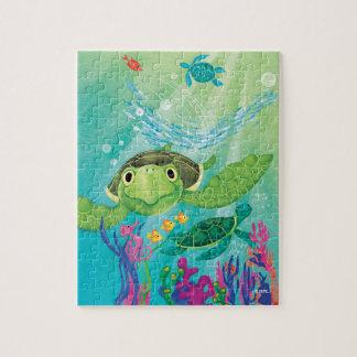 A Sea Turtle Rescue Jigsaw Puzzle
