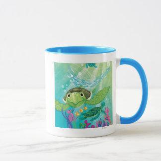 A Sea Turtle Rescue Mug