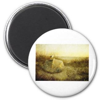 A Seagulls Tale Rafferty-Evans Art 2 Inch Round Magnet