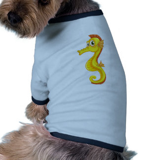 A seahorse pet clothing