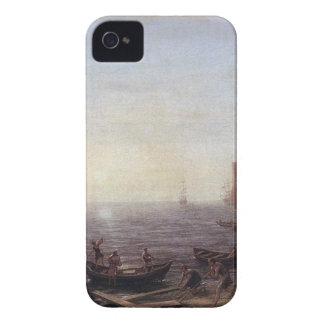 A Seaport at Sunrise by Claude Lorrain Case-Mate iPhone 4 Case